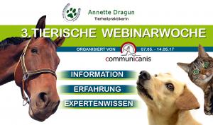 Banner zur Tierischen Webinarwoche