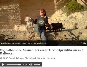Interview Ankündigung bei Veggieradio.de