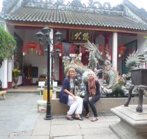 Brunnen vor kantonesischer Versammlungshalle